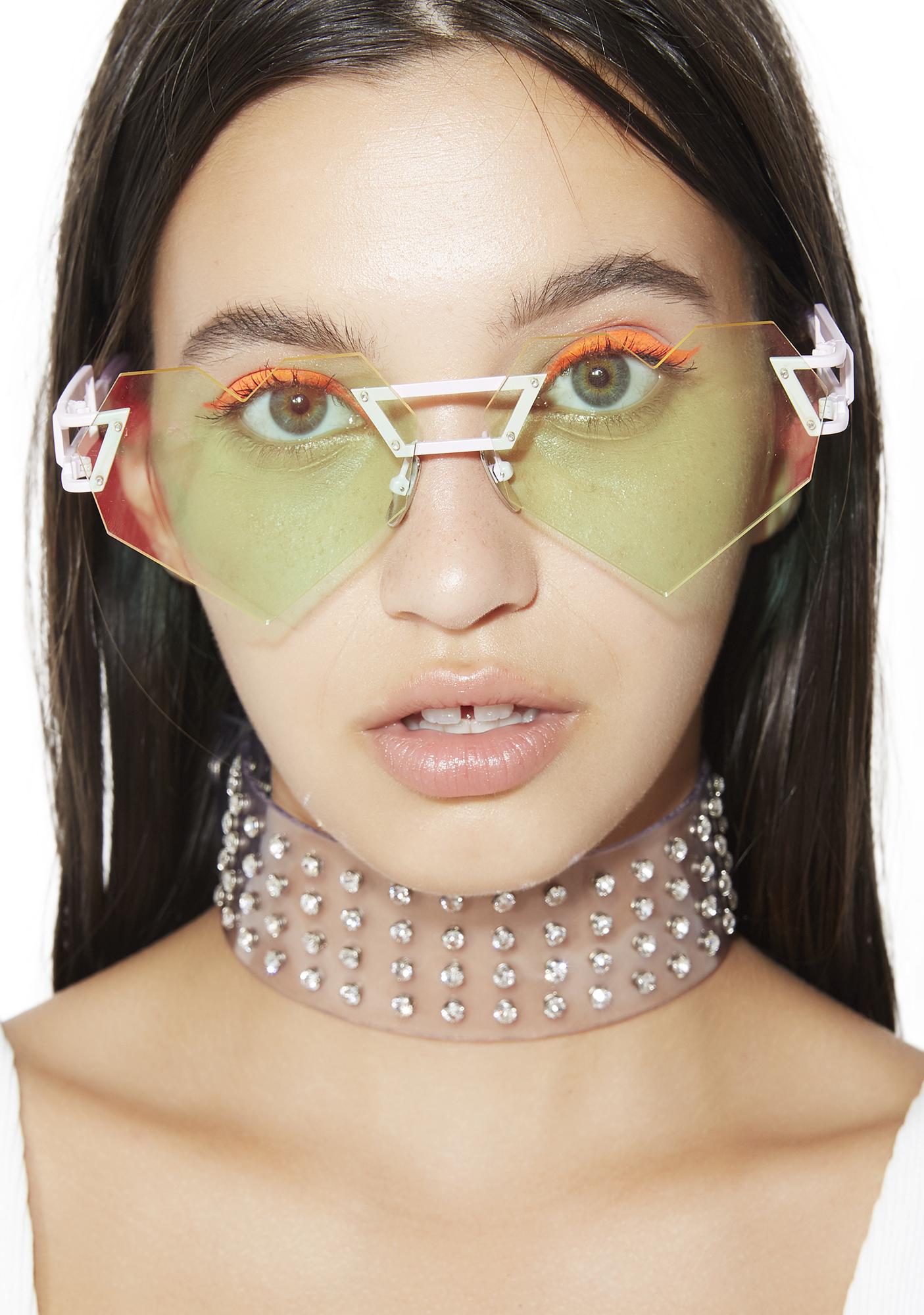 ESQAPE Hologram Heart Speqz Sunglasses