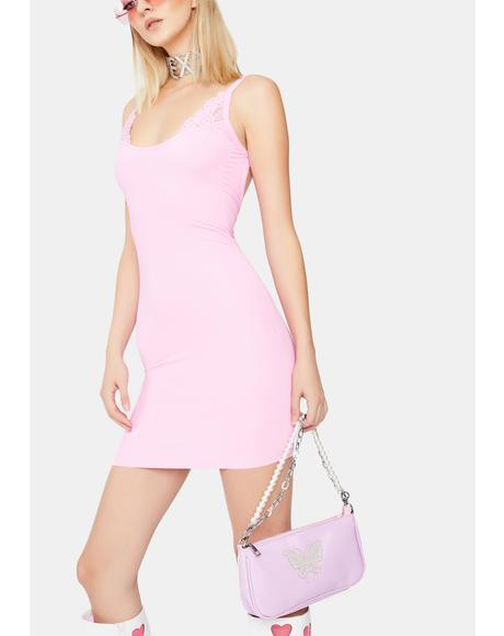 Baby Entice Me Backless Dress