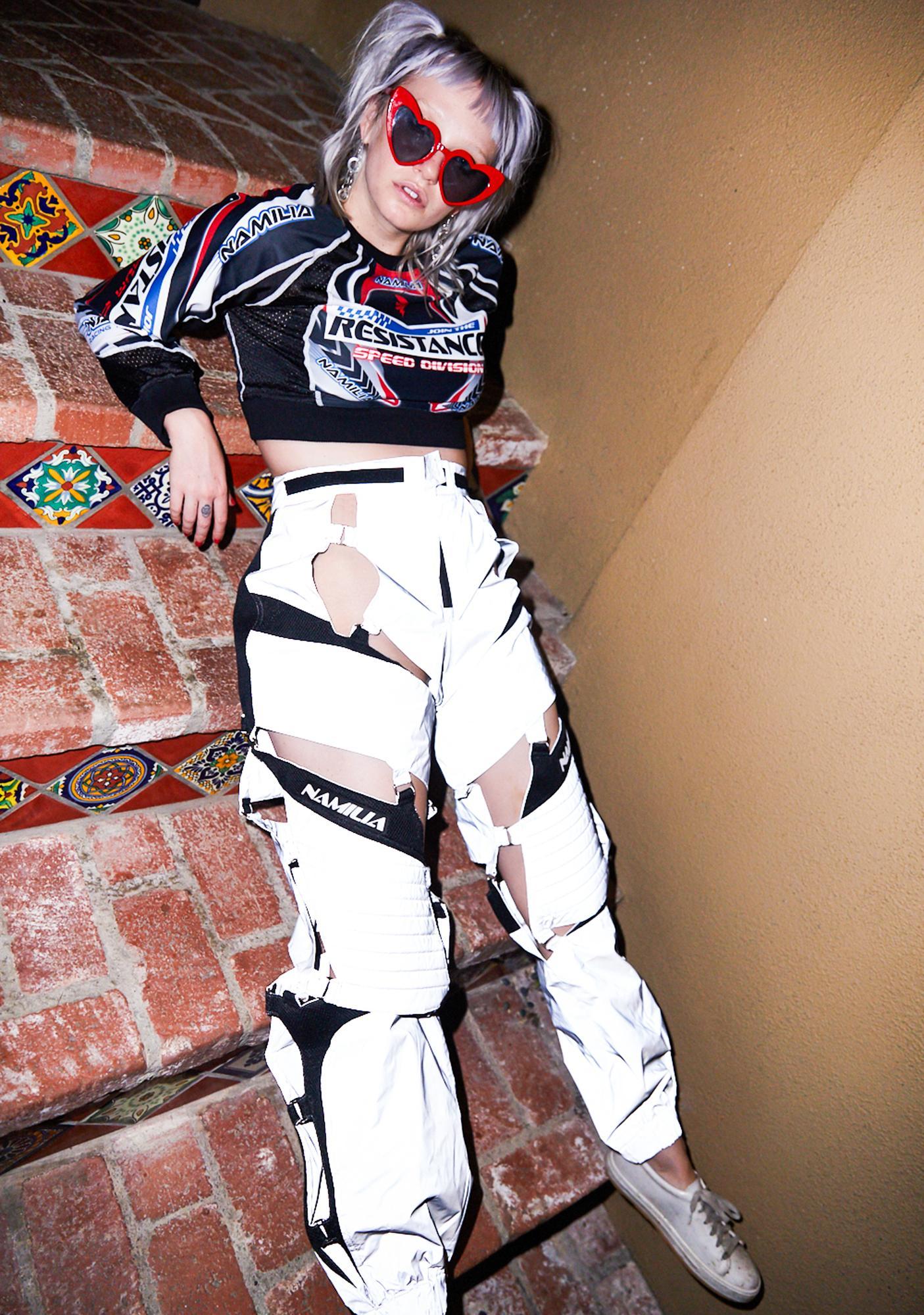 Namilia Reflective Floating Motocross Pants