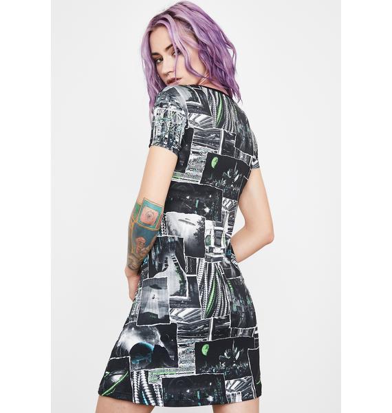 Current Mood Interstellar Memories Mini Dress
