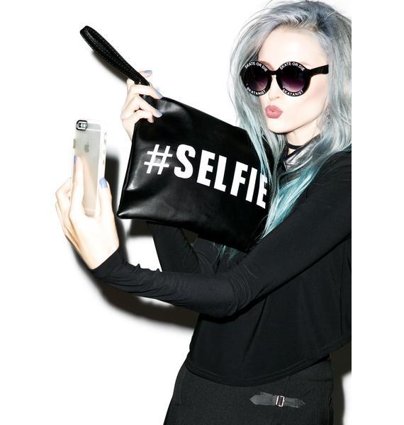 #Selfie Clutch