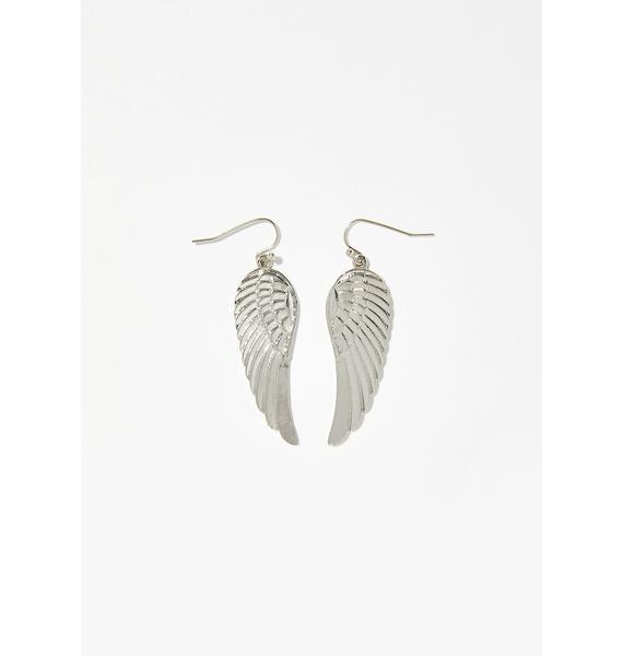 High Seraph Wing Earrings