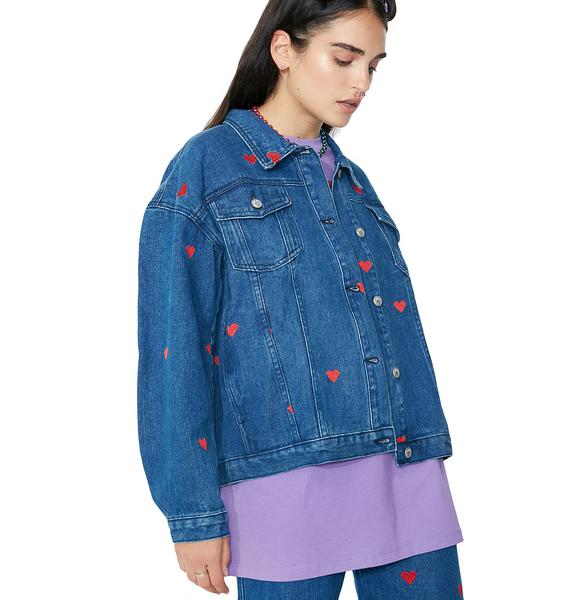Lazy Oaf Denim Love Jacket