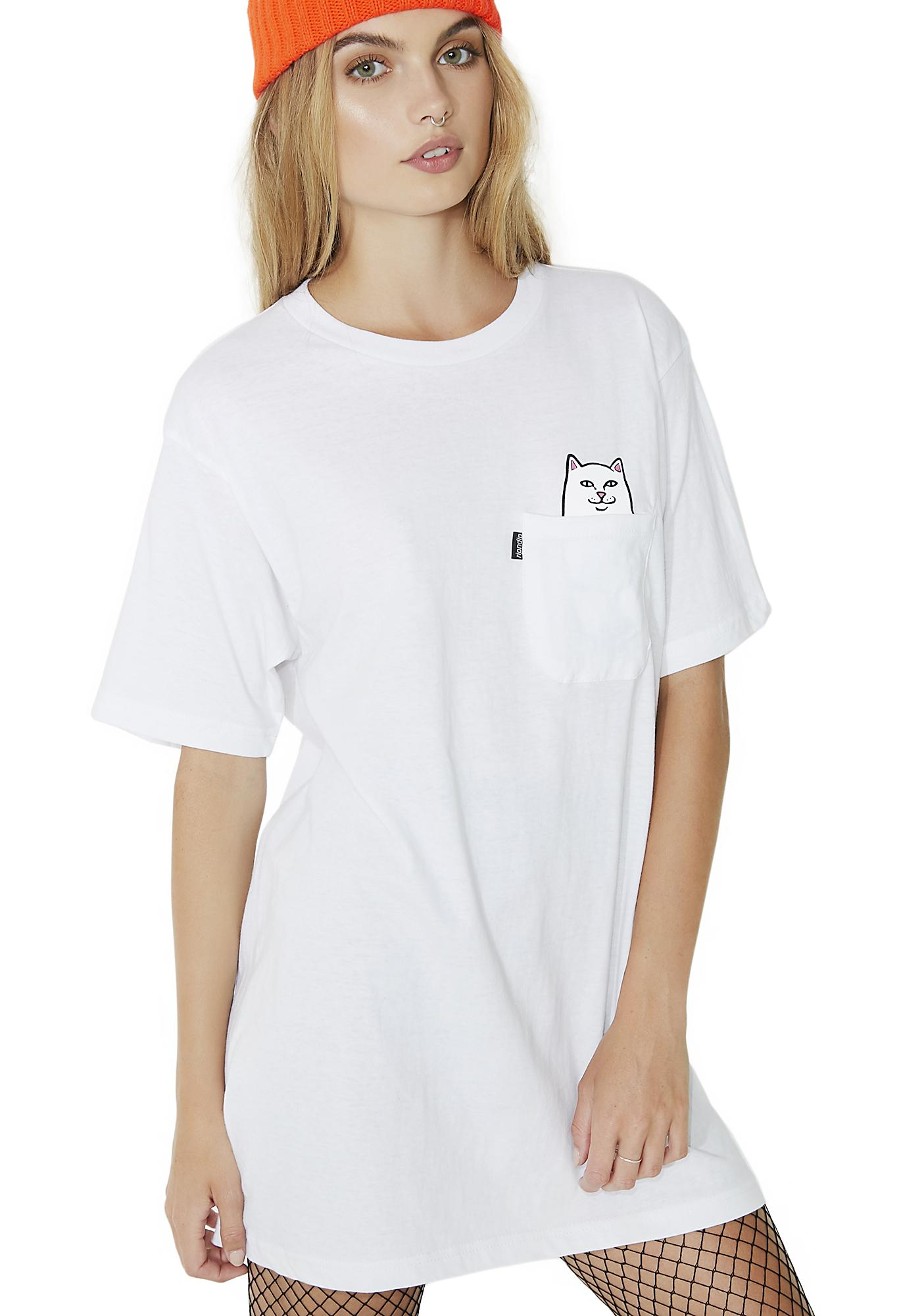 RIPNDIP Creamy Lord Nermal Pocket Tee