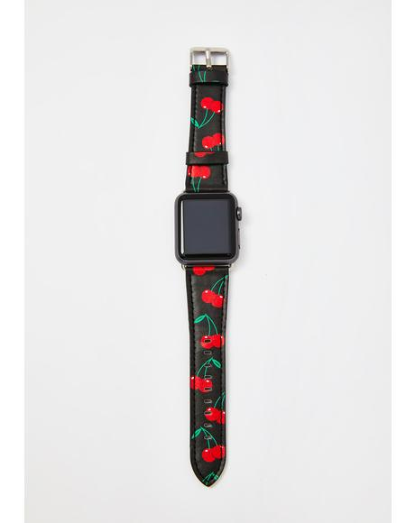 Black Cherries Apple Watch Band