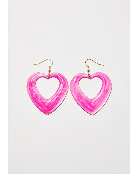 Pretty Piece Of My Heart Earrings