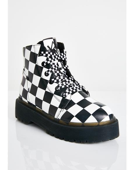 Slayr Check Boots