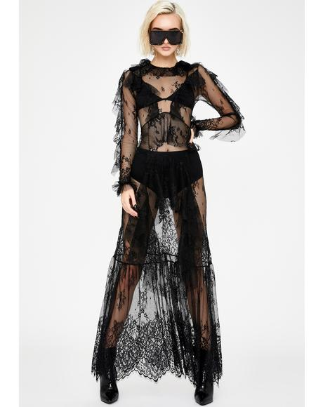 Wicked Poise Lace Dress