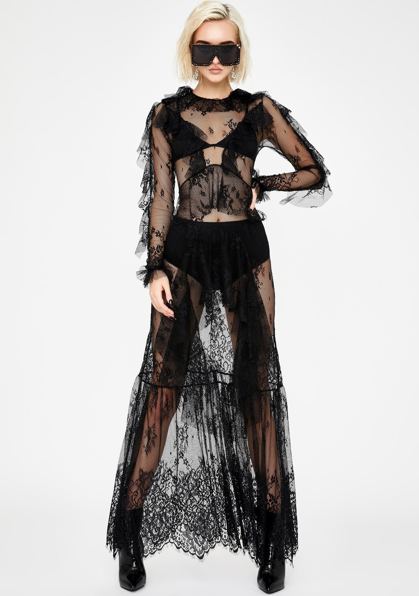 Kiki Riki Wicked Poise Lace Dress