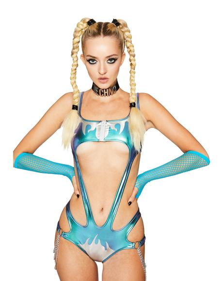 Sparked Atomic Bliss Cut Out Bodysuit