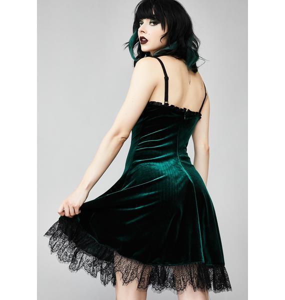 Widow Blind Faith Velvet Dress