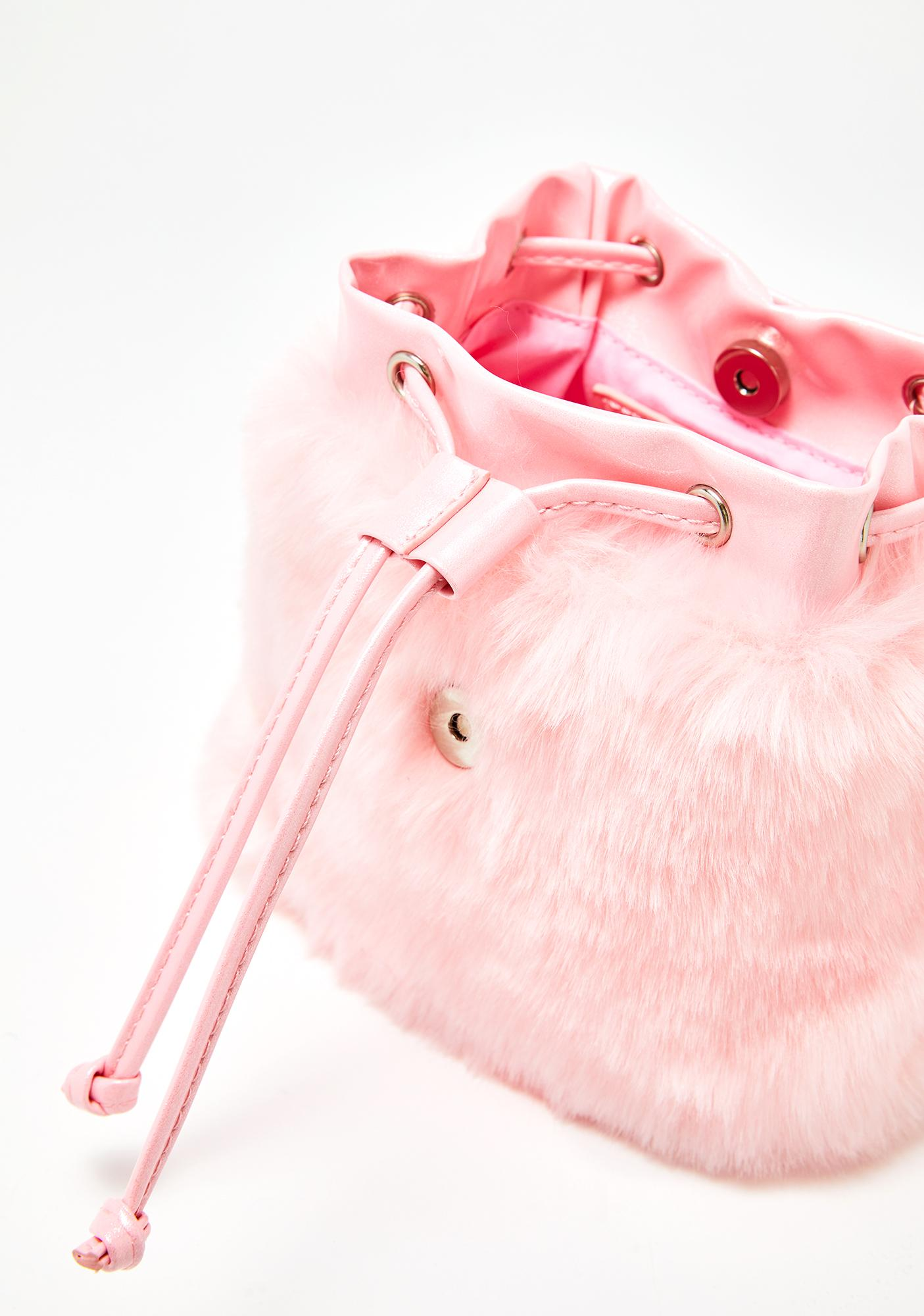 ... Sugar Thrillz At First Sight Fuzzy Backpack 3c998754eee2e