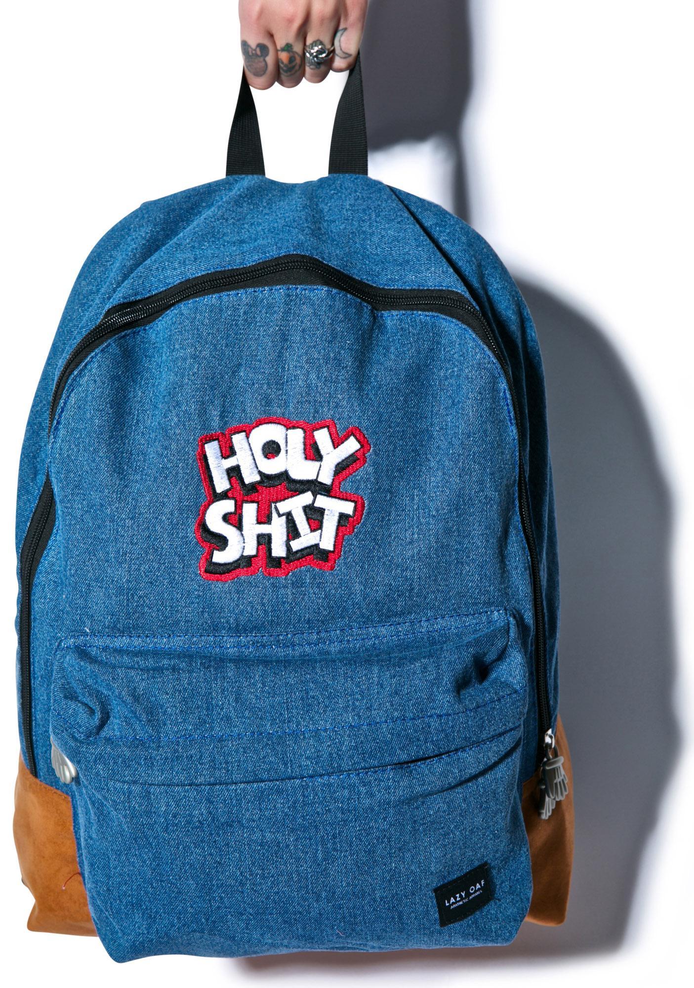 Lazy Oaf Holy Shit Backpack