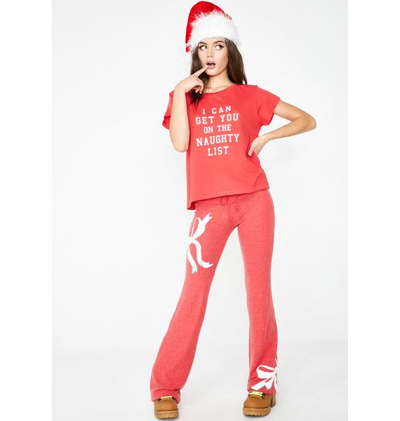 Wildfox Couture Naughty List No9 Tee