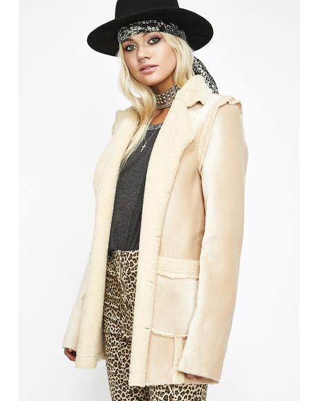 Spirit Weaver Sherpa Coat