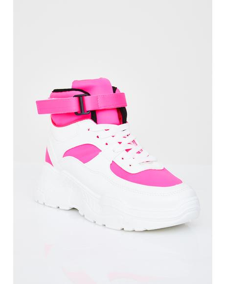 Sweet Cool Dad Platform Sneakers