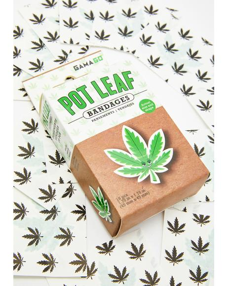 Pot Leaf Bandages