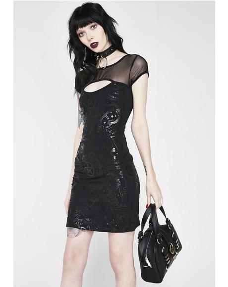Grave Girl Bodycon Dress