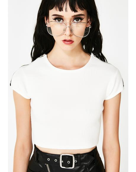 Bloodless Wild Daze Crop Top