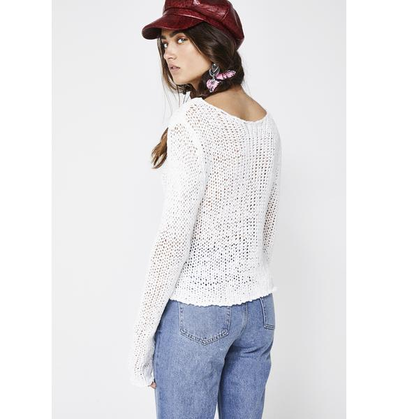 Go With The Flow Knit Sweater
