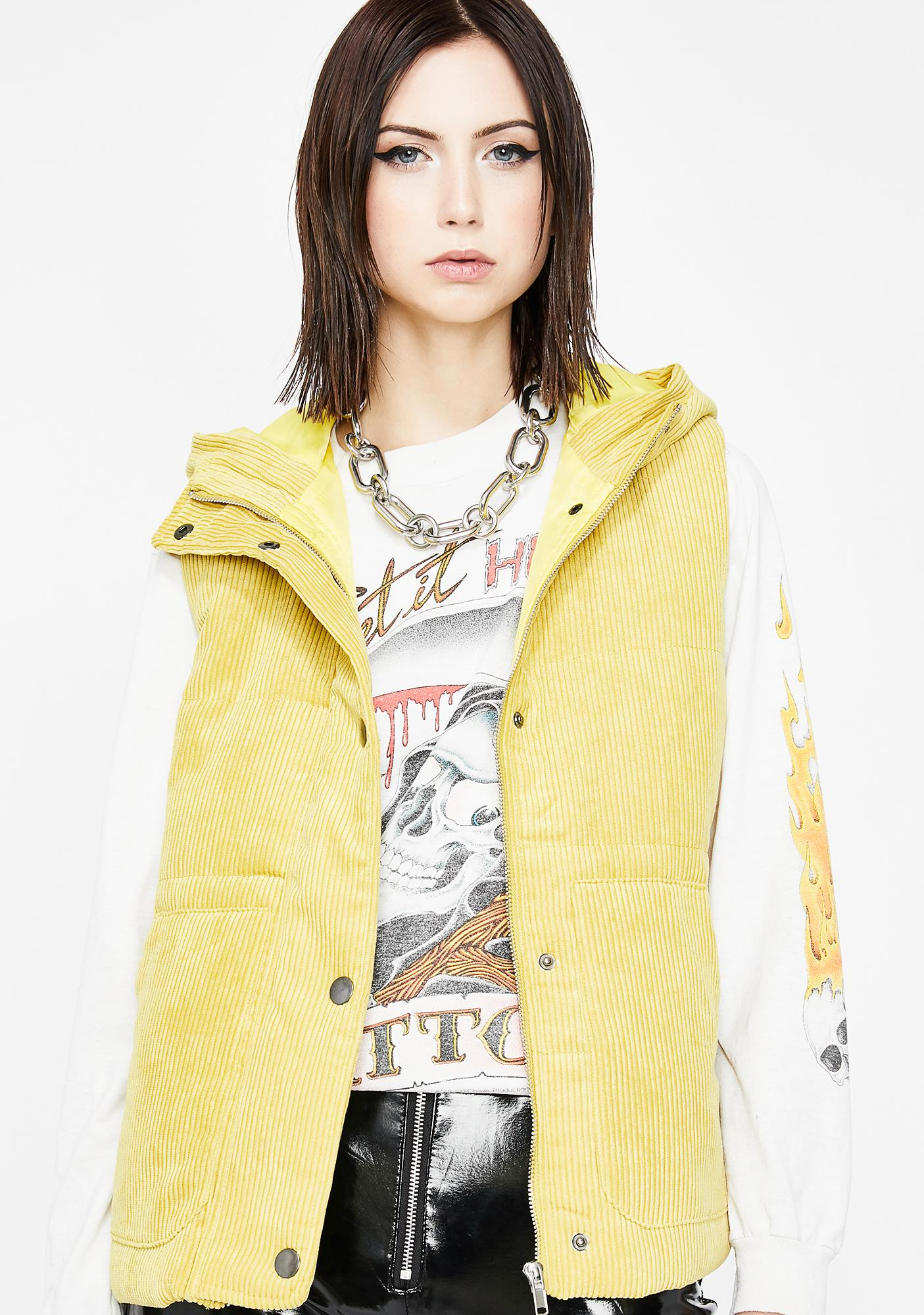 Cool Grl Vibes Puffer Vest
