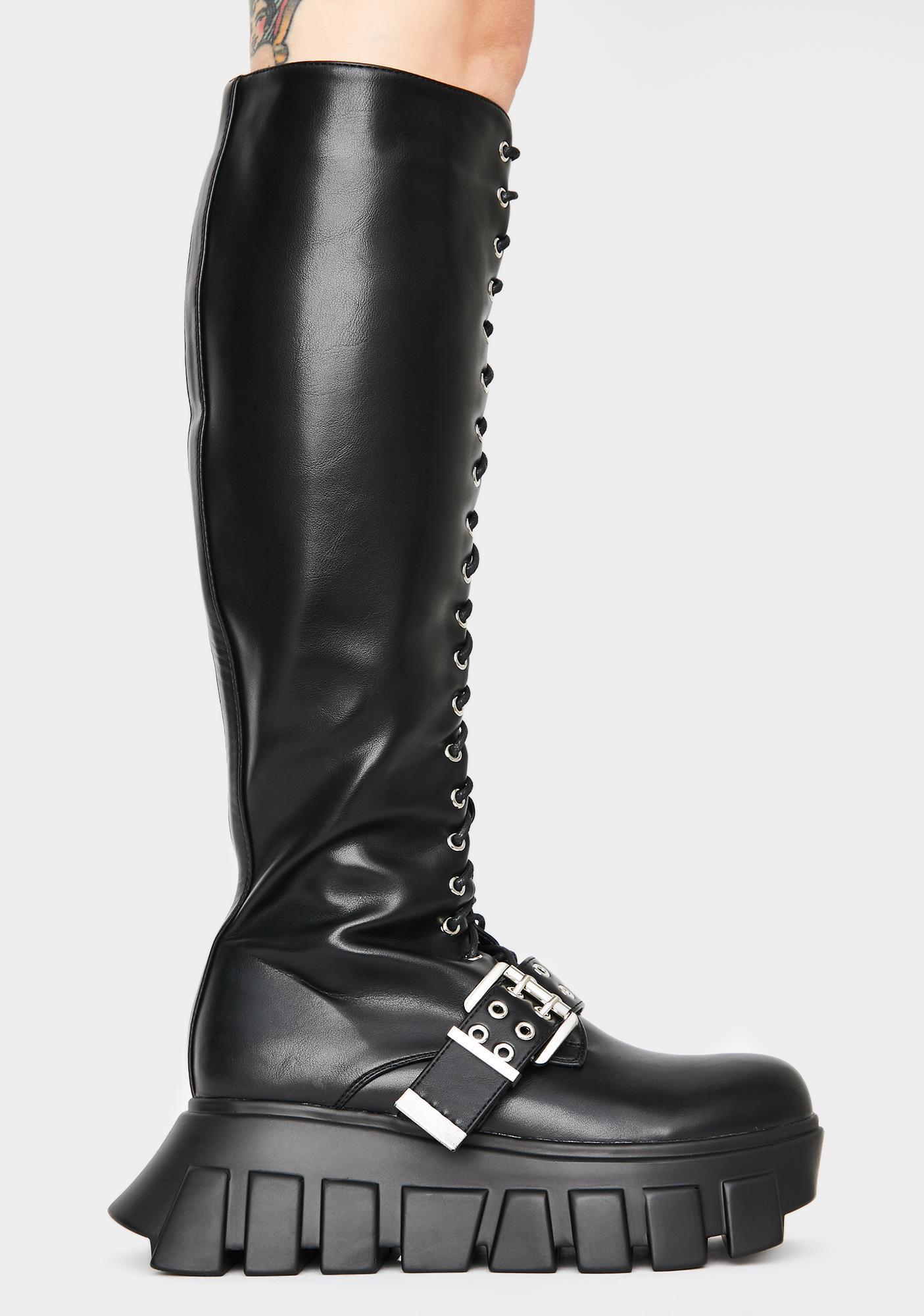Lamoda Waitin Around Knee High Boots