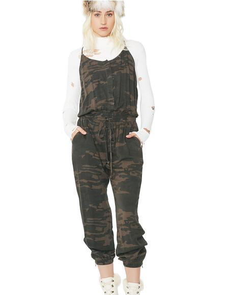 First In Command Jumpsuit