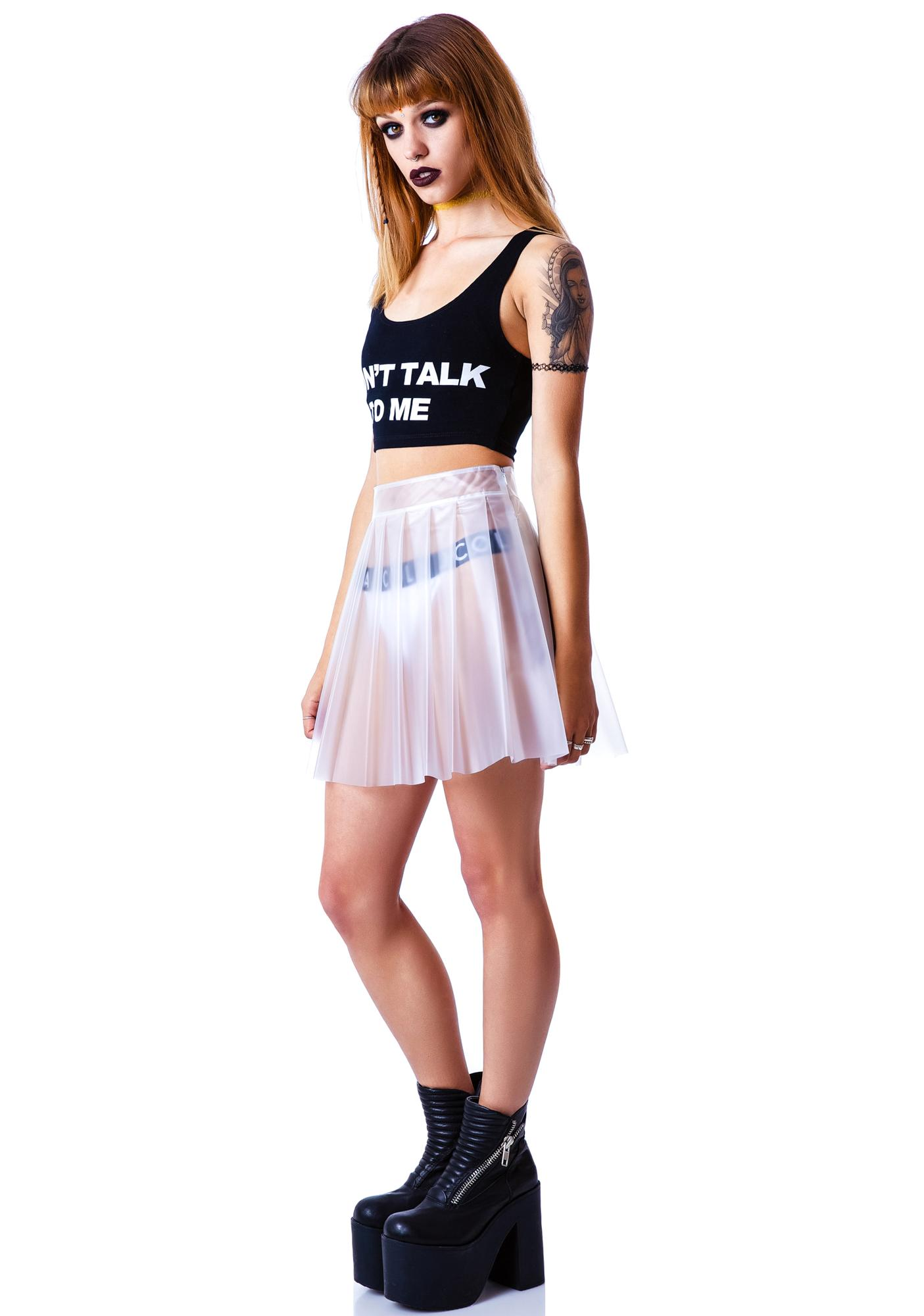 Lip Service Cold Fusion Frosted Skirt