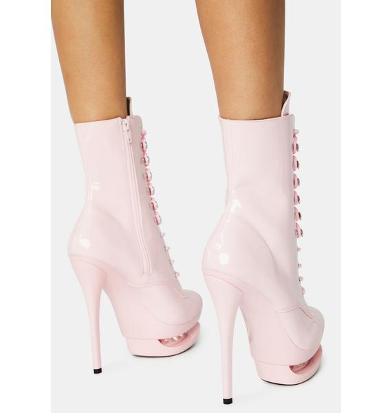 Pleaser Check Me Out Platform Heels