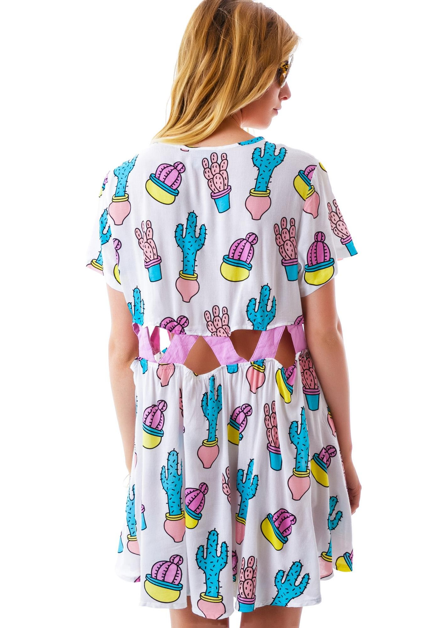 Lazy Oaf You Prick Gap Dress