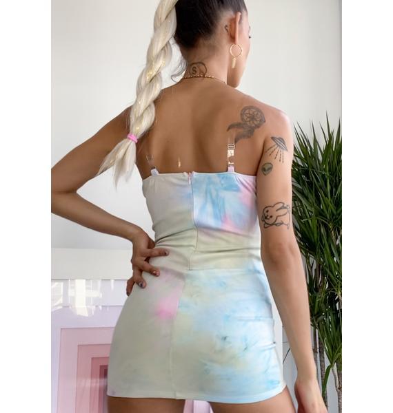 Dreams Of Heaven Mini Dress