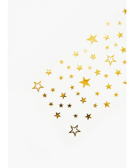 Gold Manifest Sparkles