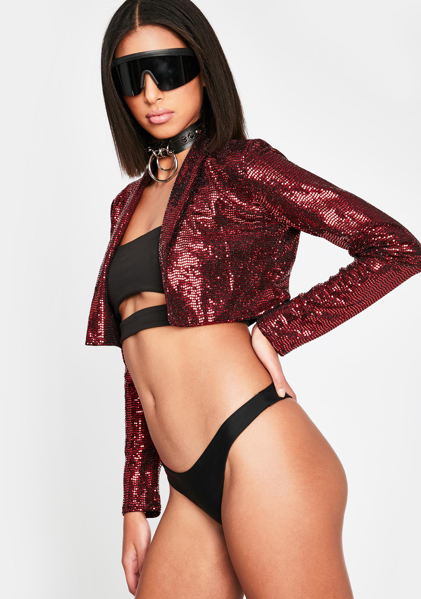 Limited Edition Sequin Jacket