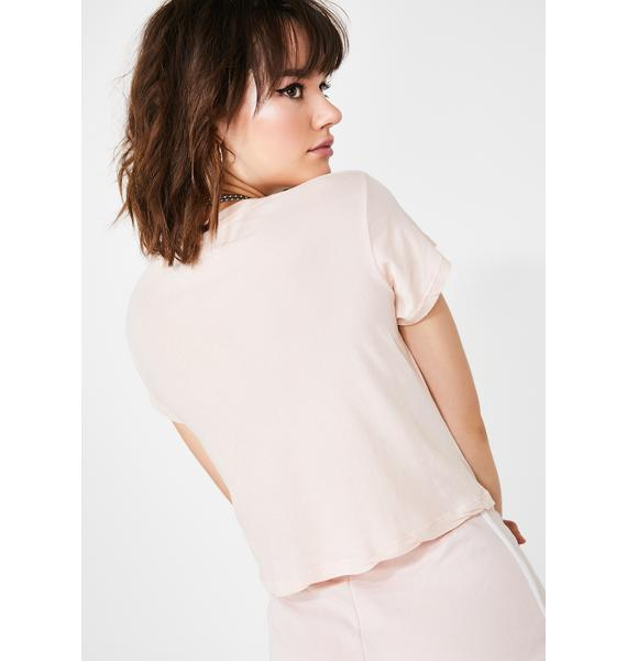 Wildfox Couture Good Side Baby Tee