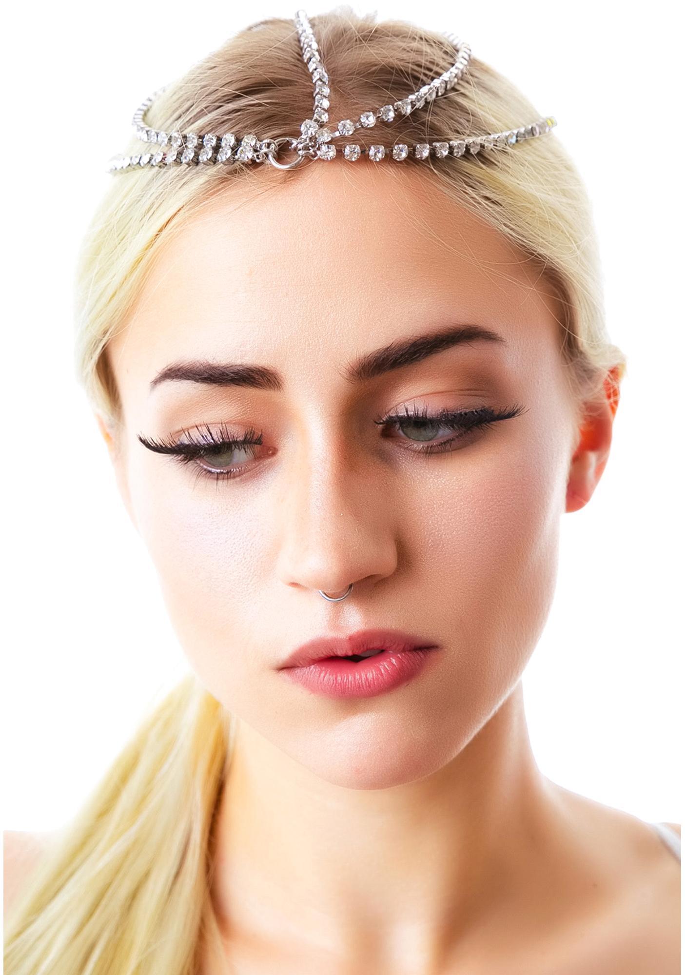 Cleopatra Rhinestone Head Chain