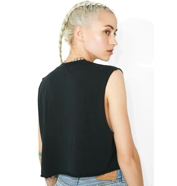 Moonage Daydream Cropped Tee