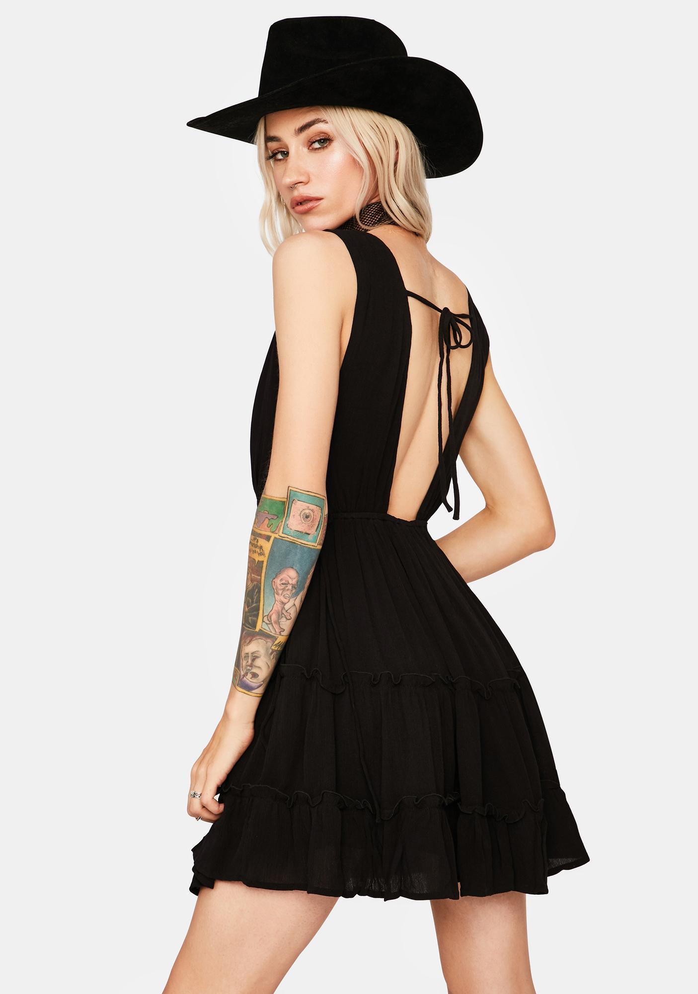 Devious Save Some Time Mini Dress