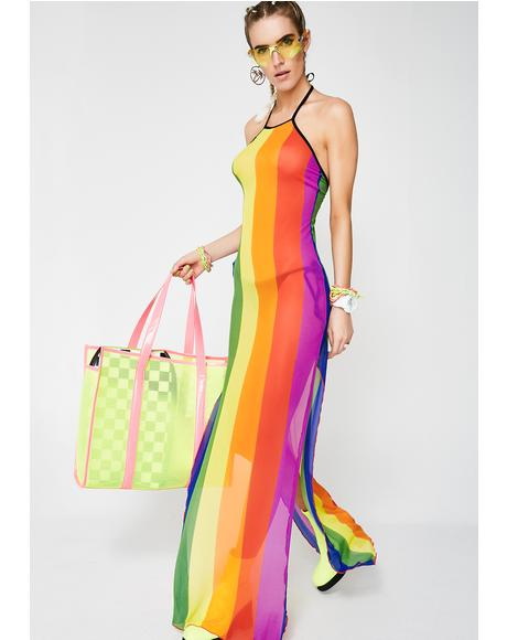Color Ur World Maxi Dress