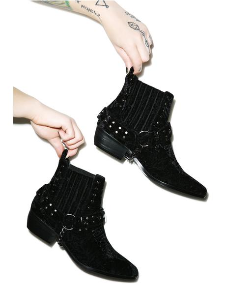 Laso Velvet Boot