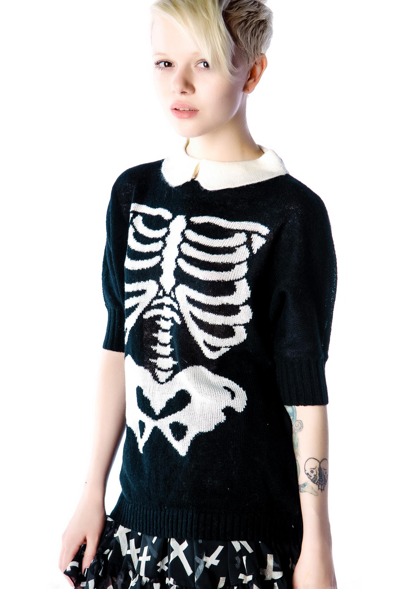 Wildfox Couture Super Model Alexa Sweater