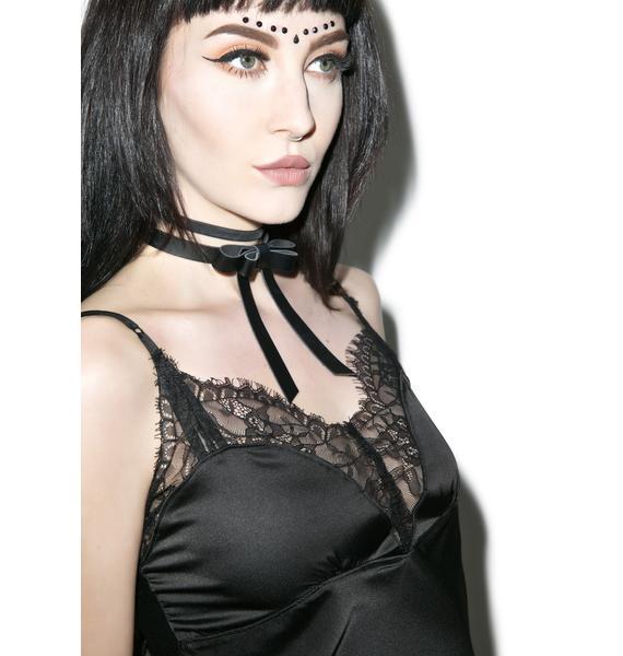 Widow Artemis Lace Slip Dress