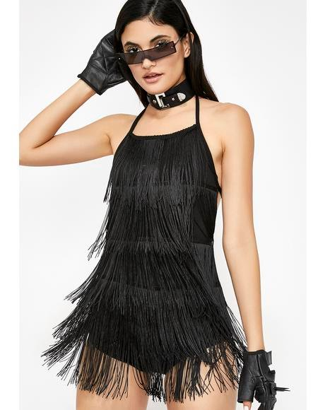 Shake It Off Fringe Bodysuit