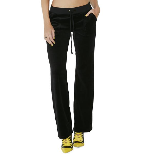 JUICY COUTURE Velour Del Rey Pants