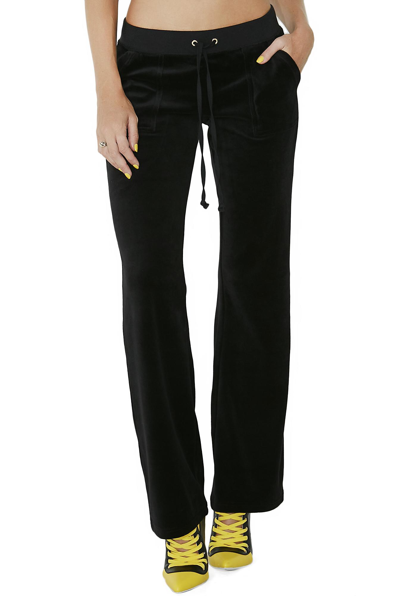 137d079596b ... JUICY COUTURE Velour Del Rey Pants ...