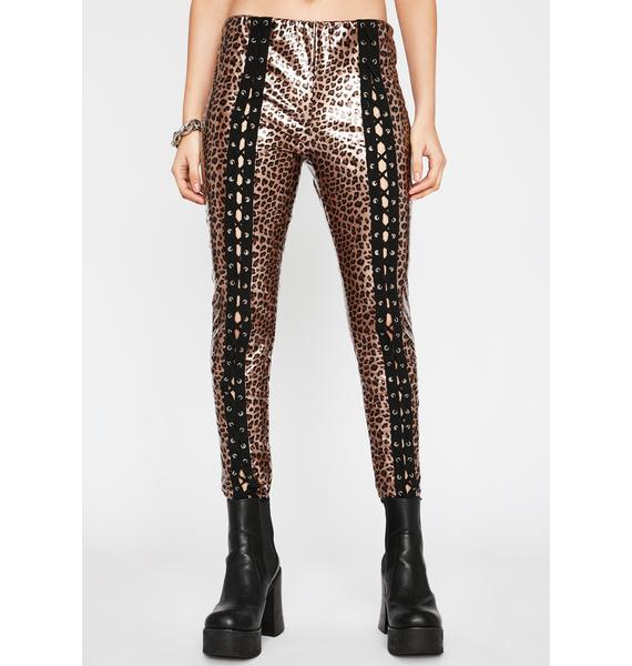 Extreme Empire Lace Up Pants
