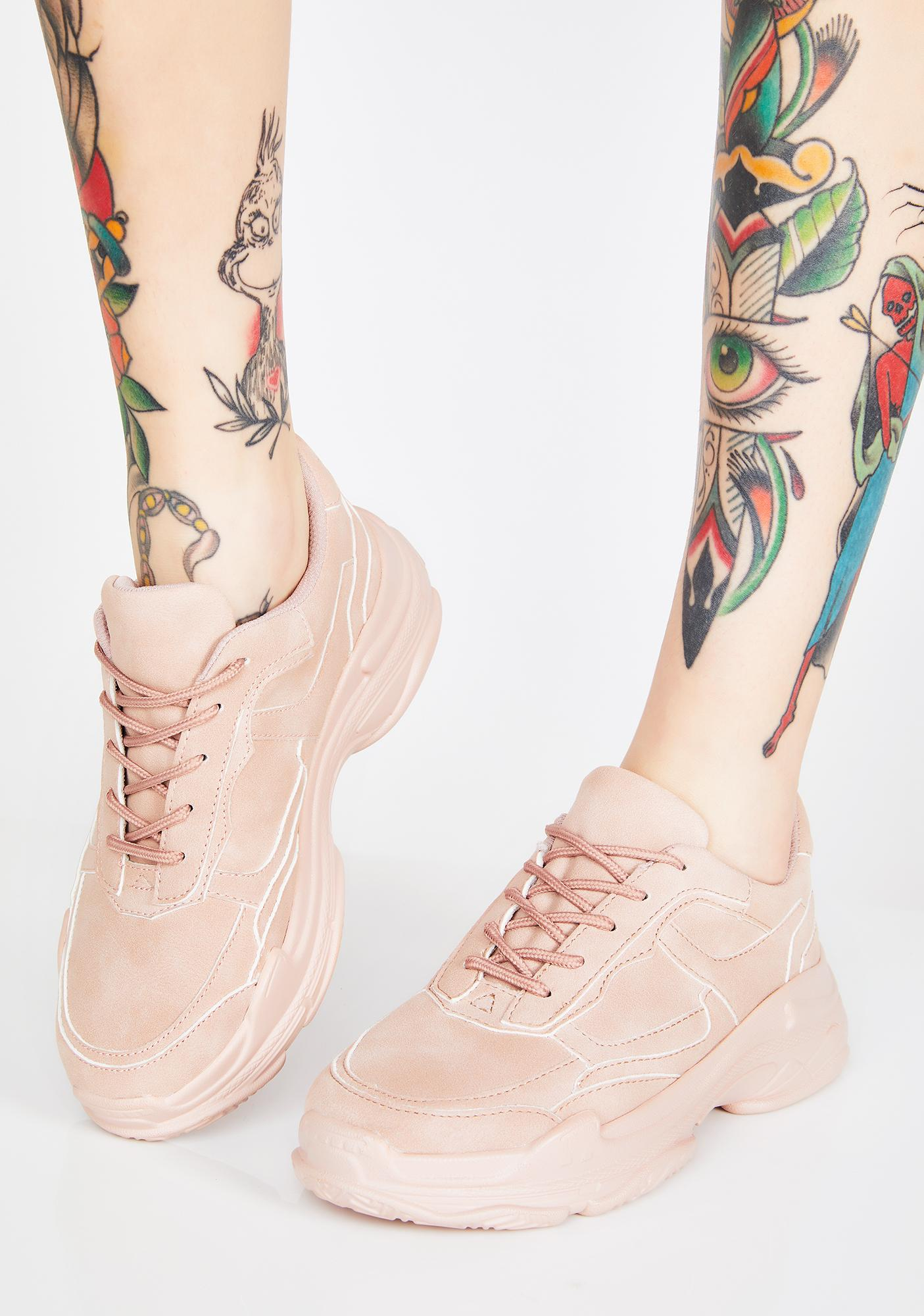 Bubblegum Hype Baby Chunky Sneakers