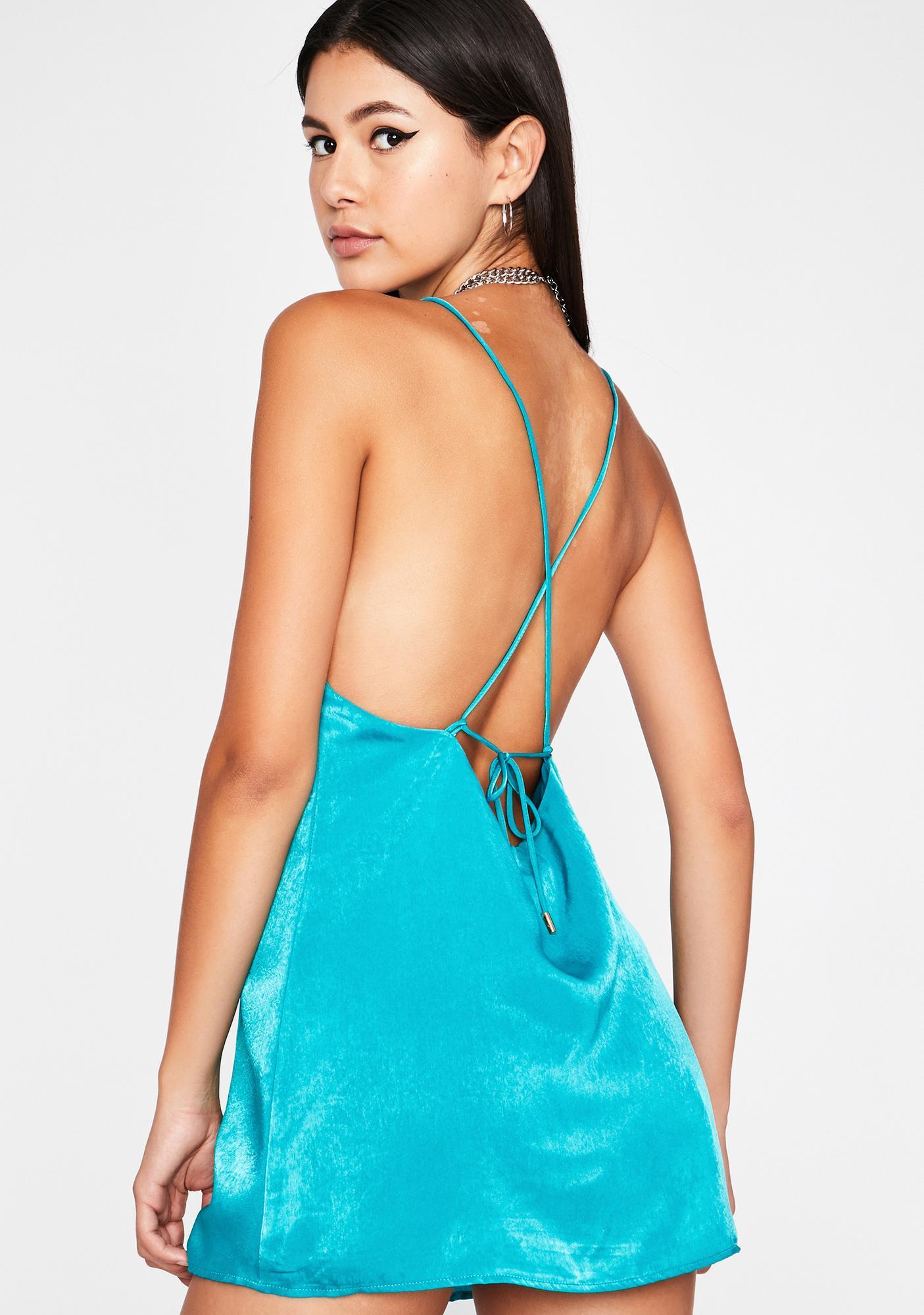 Oh Scandalous Slip Dress
