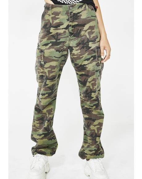Forest Camouflage Utility Pants