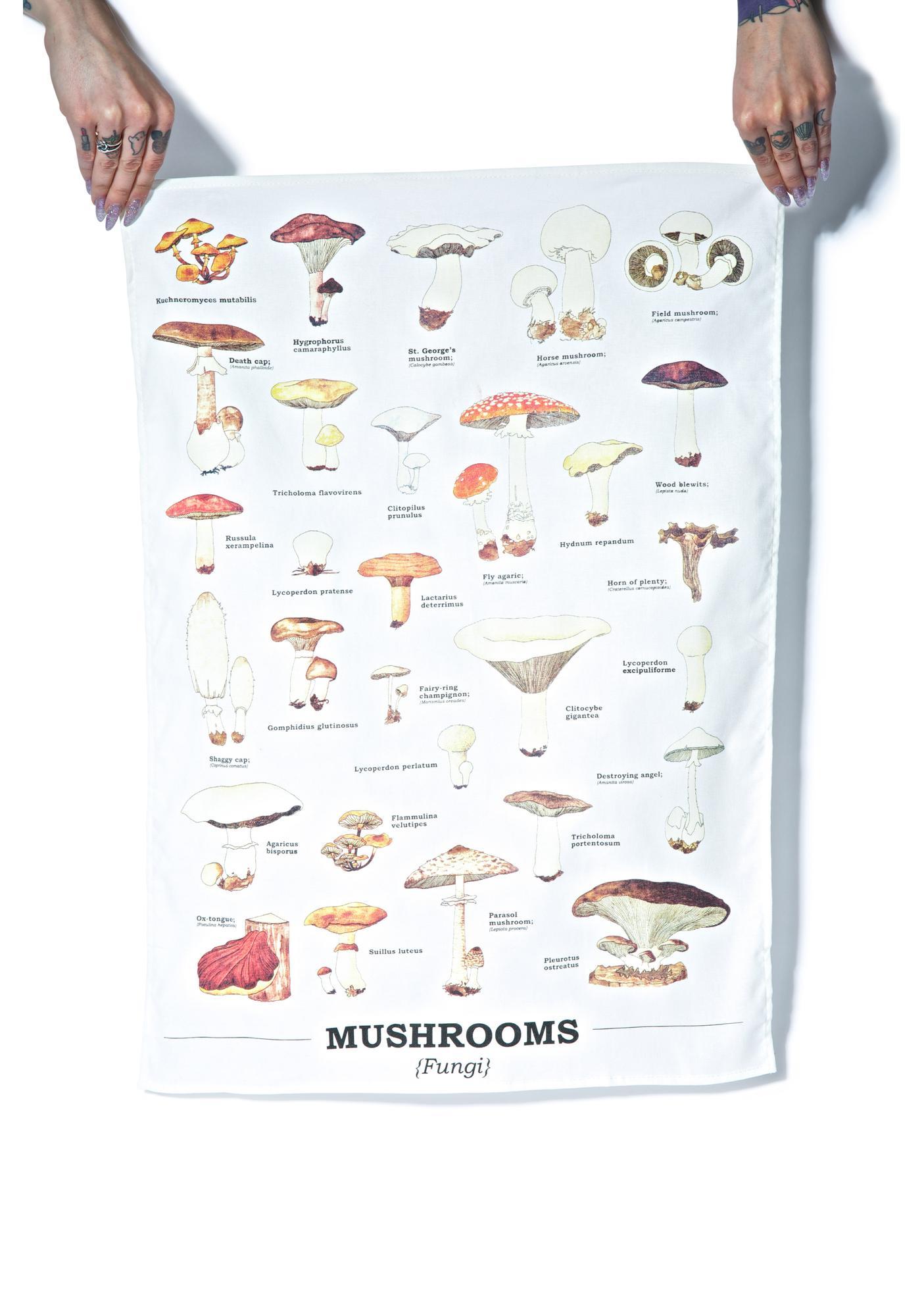 Shroomy Tea Towel