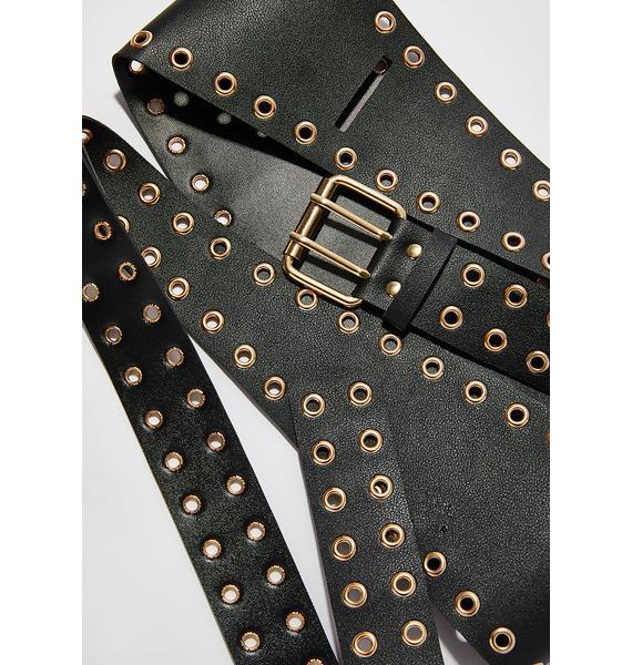Get Twisted Wrap Waist Belt
